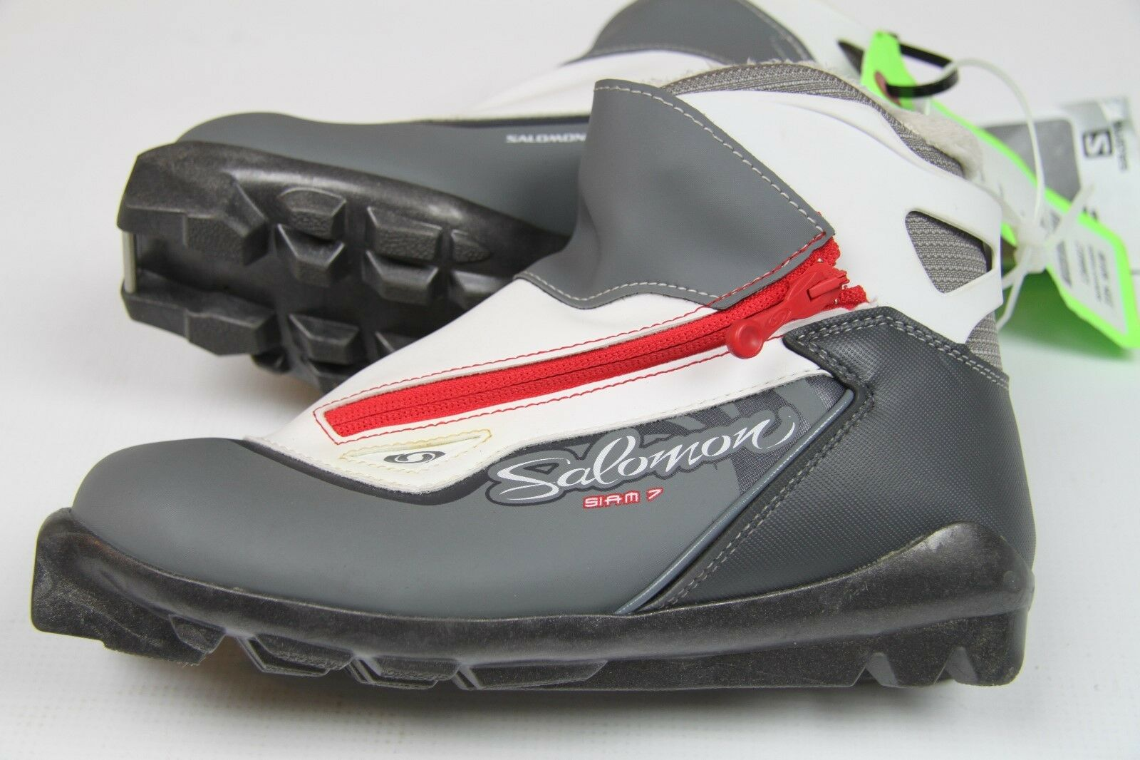 Salomon Siam 7 Pilot Nordic Cross Country Stiefel Größe EUR 37 1 3  US 6 (P141)