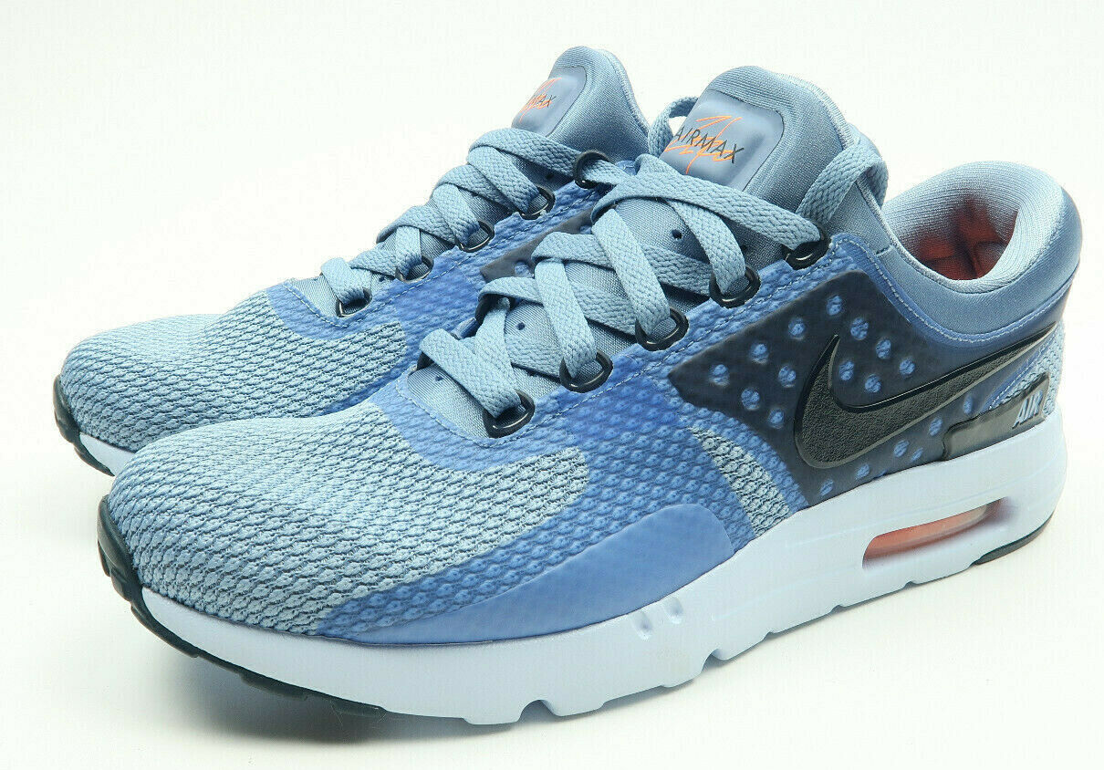 New Nike Air Max Zero Essential bluee Navy Sneakers Size 9 876070-400
