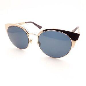 Image is loading Christian-Dior-Dioramamini-DDBKU-Gold-Copper-Blue-Avio- 69bdb5f71db1