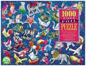 EeBoo  Puzzle 1000 pièces Brillantes Décorations Brillantes Foil Shiny Ornaments