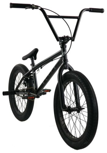 "Elite 20/"" BMX Destro Bicycle Freestyle Bike 3 Piece Crank Black Grey NEW 2019"