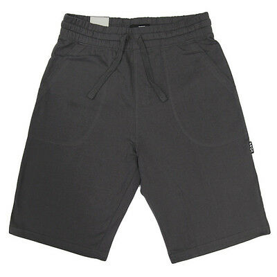 New Men Fleece Terry Jogger Shorts Elastic Waist 100% Cotton Sports Casual S-3XL