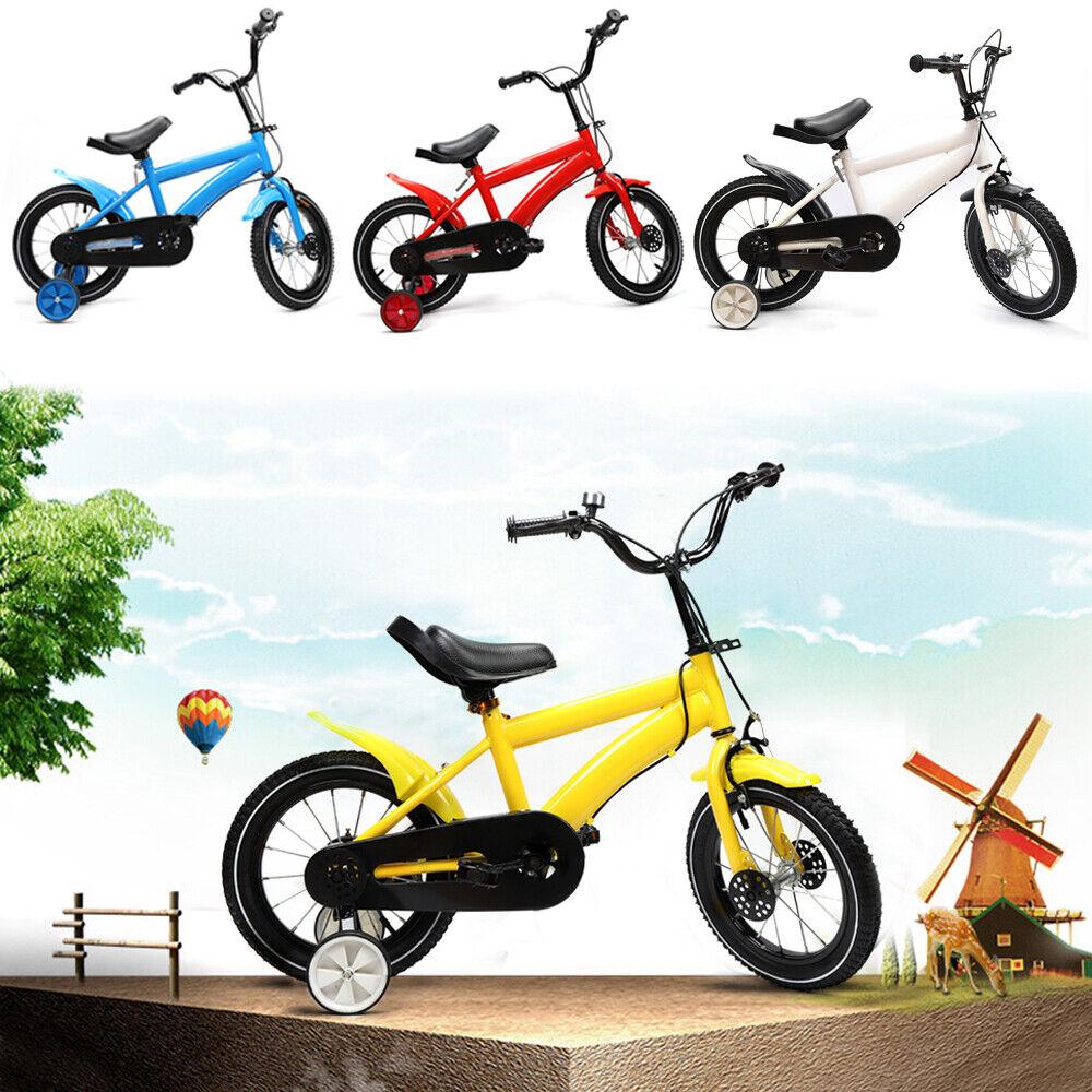 14  14 Zoll Kinderfahrrad Unisex Kinderfahrrad Weiß  Rot Blau Gelb Fahrrad DHL