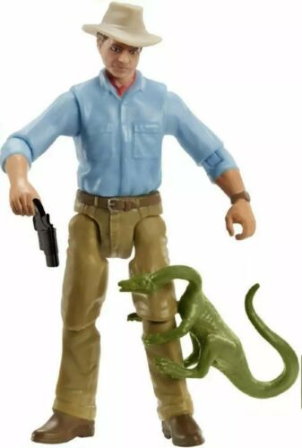 Alan Grant Figure Mattel Jurassic World Legacy Collection Dr Jurassic Park