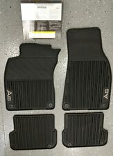 Oem Audi A6 2007 2011 All Weather Floor Mats Set Of 4 Black