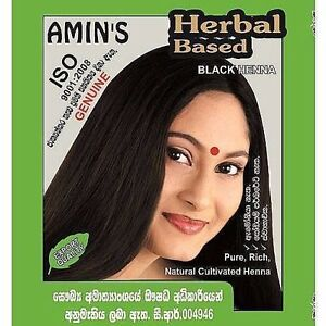 1pcs Herbal Black Henna 100 Pure Ppd Chemical Free Natural Amin S