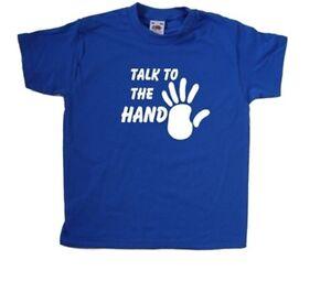 Talk-To-The-Hand-Kids-T-Shirt