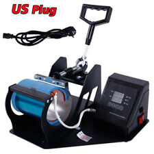 Coffee Mug Heat Press Transfer Sublimation Machine For Diy Mug Print Pattern Us