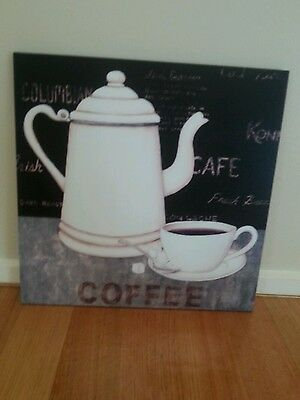 BRAND NEW CANVAS PRINT,VINTAGE,COFFEE,DRINKS,DISPLAY,FRENCH,KITCHEN