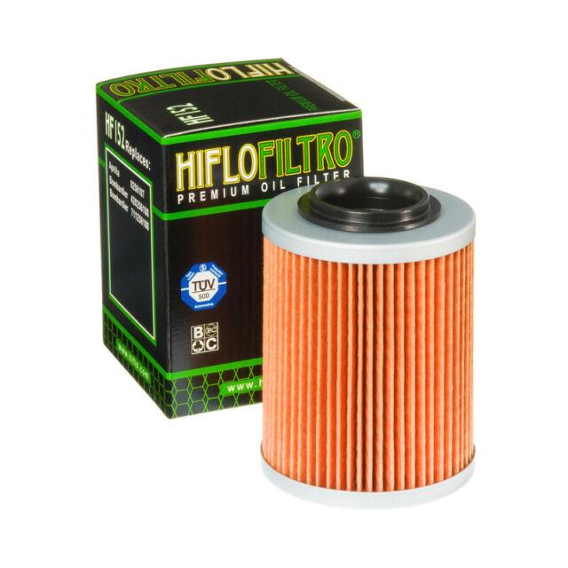 Hiflo Premium Ölfilter HF152 passend für Aprilia Bombardier etc Filter CAN-AM