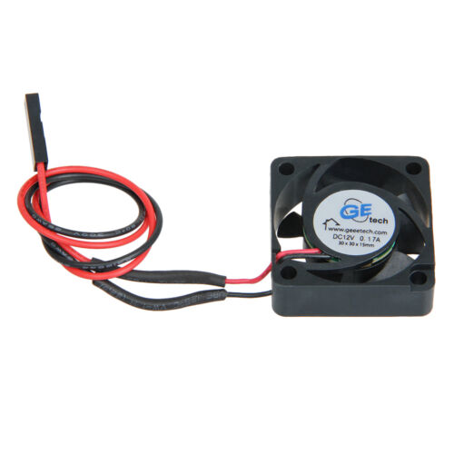 RepRap 30x30mm Mini Cooler fan 12V DC for stepper motor Pololu A4988 cooling