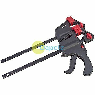 """2pc Quick Ratchet Rapid Bar Clamp Spreader Set, Free Delivery 4"""" 100mm"""