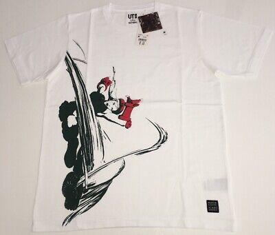 UNIQLO CAPCOM Street Fighter Hadouken UT MEN/'S Graphic Navy T-Shirt M-L Japan