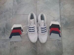Details zu Adidas Thriller Basketball schuhe shoes Neu Etikett HITOPS 53,13 Artnr.G08258
