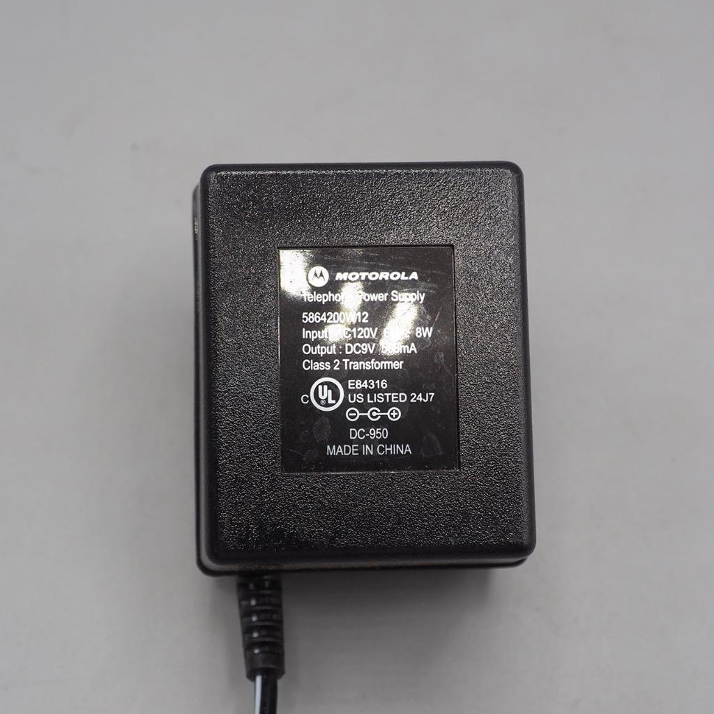 Motorola AC/DC Adapter Cord 5864200W12 DC-950 Telephone Phone Power Supply