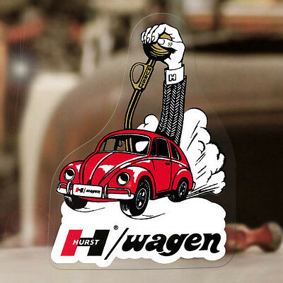 """Hurst Bug Wagen sticker decal old school shifter aircooled beetle bus 5.25/"""""""