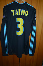OLYMPIQUE MARSEILLE FRANCE PLAYER ISSUE FOOTBALL SHIRT #3 TAIWO FORMOTION
