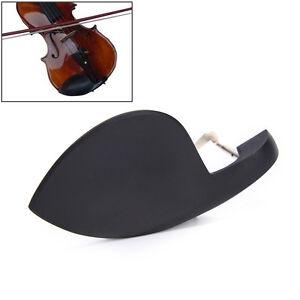 4-4-Violin-Chin-Rest-Chinrest-Wood-With-Standard-Bracket-Black-JDDS