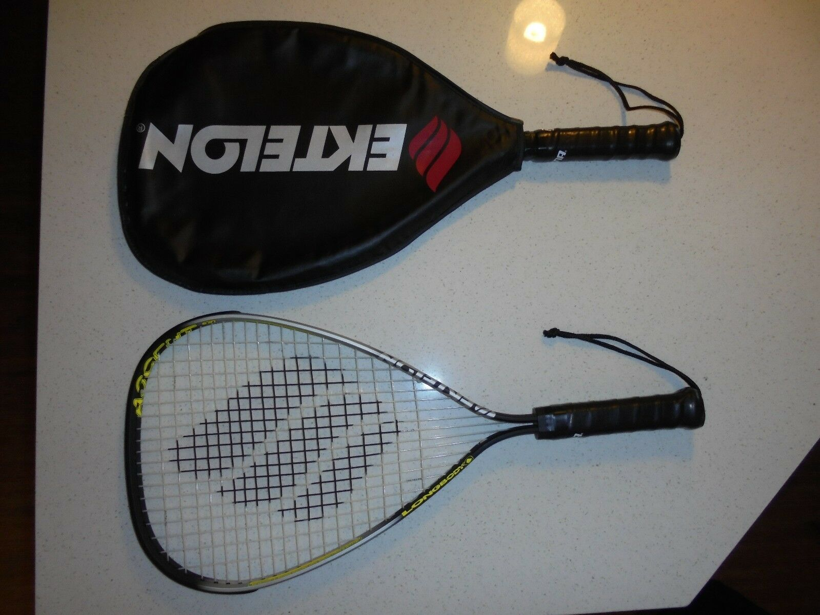 2 MENS EKTELON RACQUETBALL RACQUETS - NEW