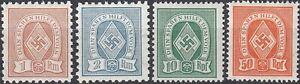 SALE-Stamp-Germany-Revenue-WWII-Fascism-War-Era-Sport-Folk-Selection-HJ-MNH