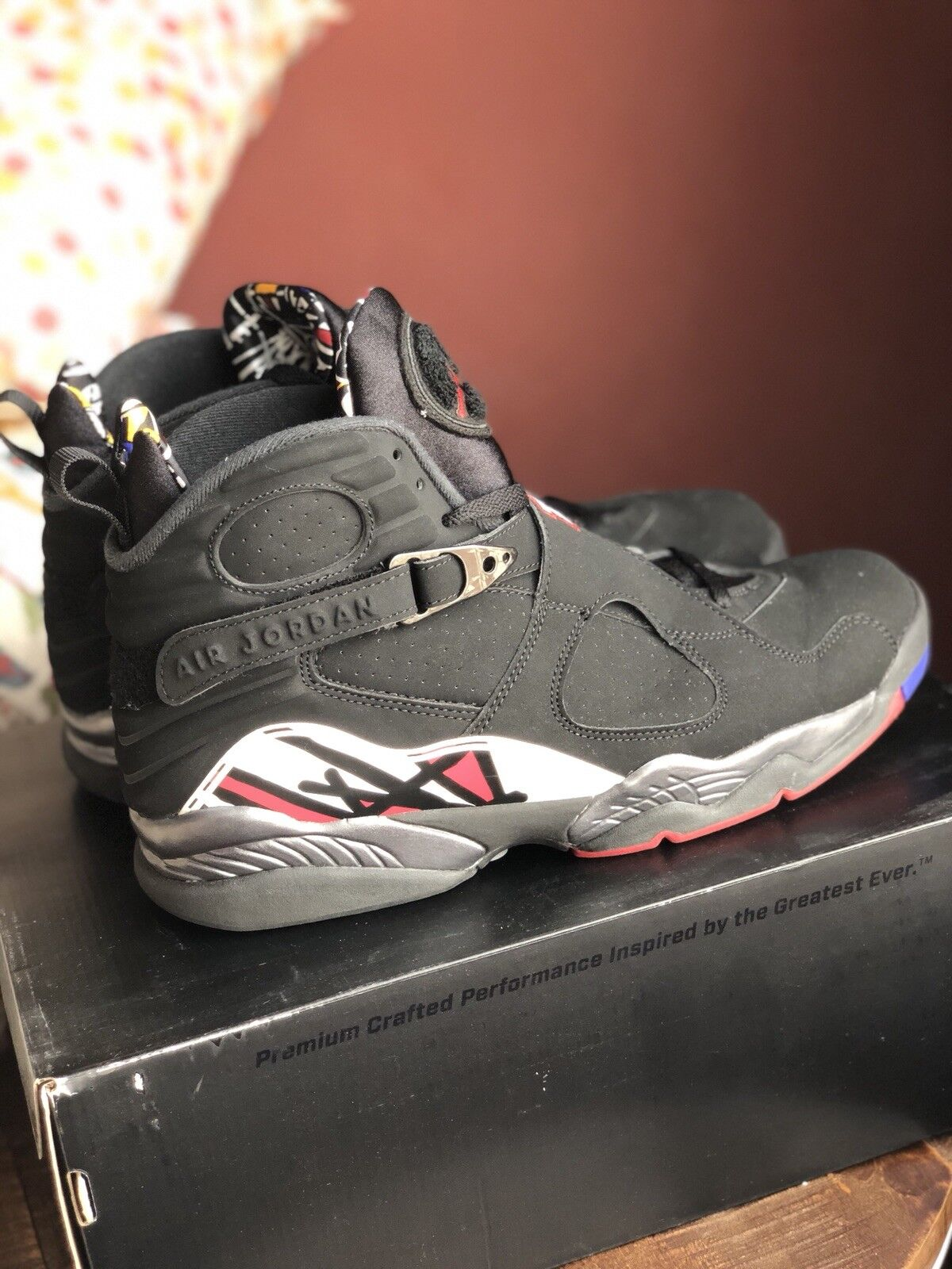 Nike Air Jordan 8 Playoff 8 shoes - Size 12 - Barely Used With Receipt