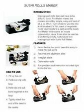 Perfect Roll hágalo usted mismo fácil Cocina Magic Roller Sushi Maker Cortador Gadget máquina del Reino Unido