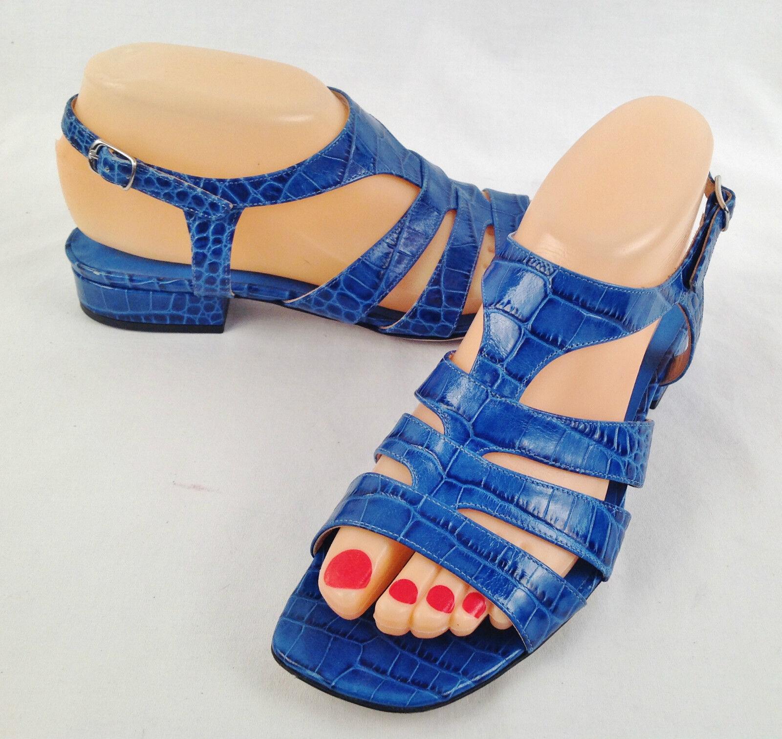 NEW!! Dries Van Norten Sandals- Blue- Size US 7.5/ Eu 37.5 $ 645- (P60)