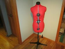 Female Adjustable Mannequin Dress Form Full Body Stand Sewing Read Description