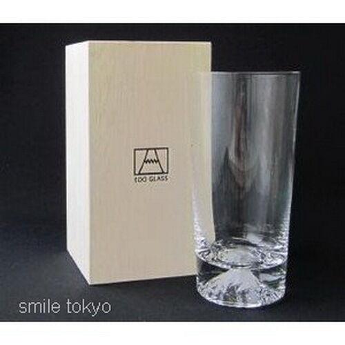 Mt. Fuji Verre Tumbler Tajima Verre Made in Japan NEW