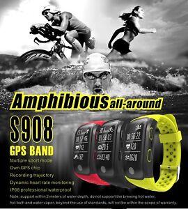 IP68-Waterproof-Smart-Wristband-GPS-Watch-Fitness-Sports-Swim-Heart-Rate-Monitor