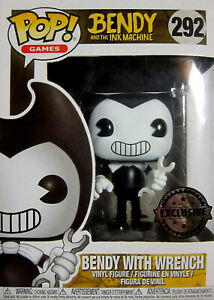 Vinyl Figur Limited Entlastung Von Hitze Und Sonnenstich Wrench Funko Pop Bendy And The Ink Machine Bendy