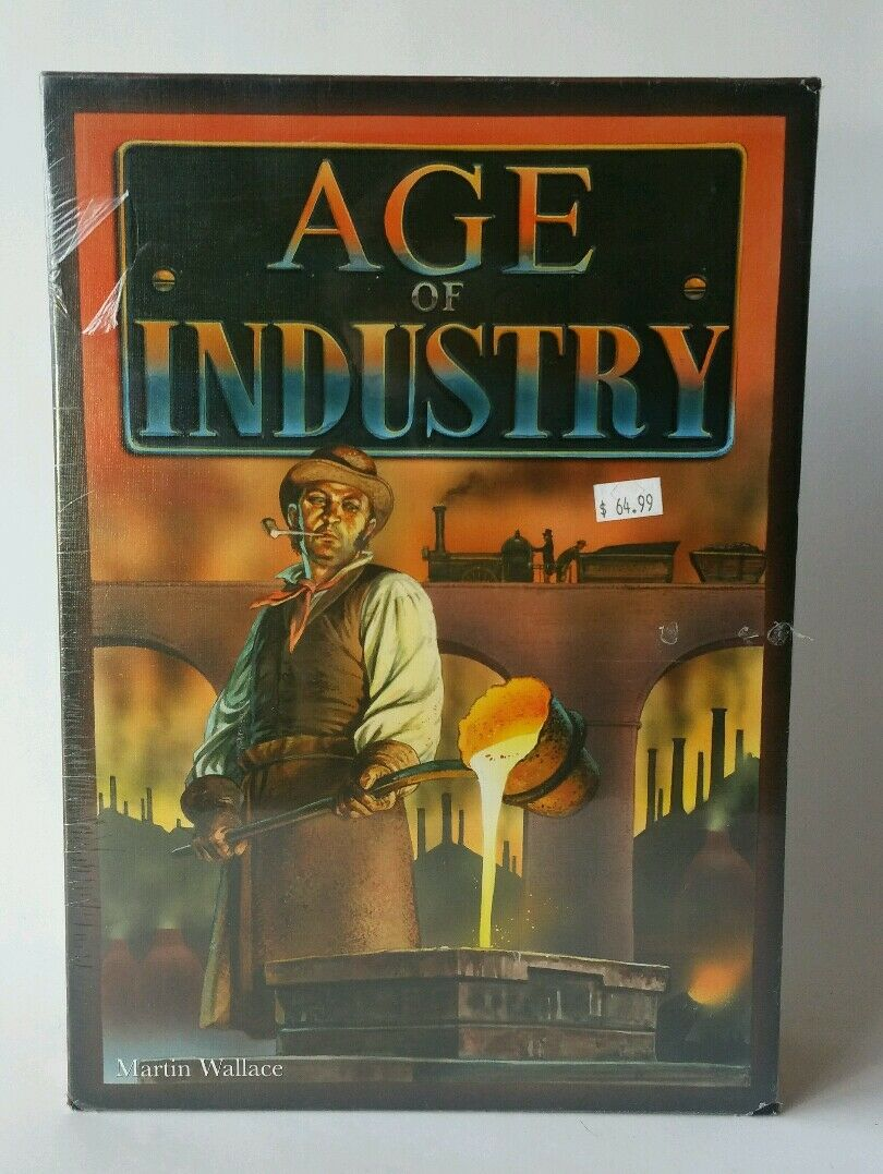 Age Of Industry  Treefrog Games  Martin Wallace  NEW SEALED FREE SHIPPING