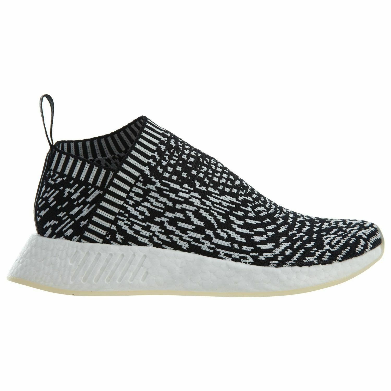 Adidas NMD CS2 PK Sashiko Zebra Mens BY3012 Black White Primeknit Shoes Size 8