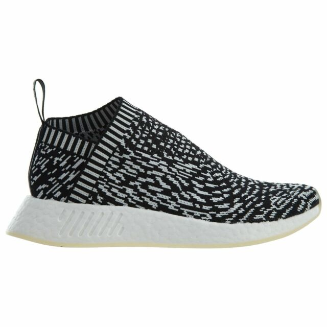 64cf2f9b34e Adidas NMD CS2 PK Sashiko Zebra Mens BY3012 Black White Primeknit Shoes  Size 8