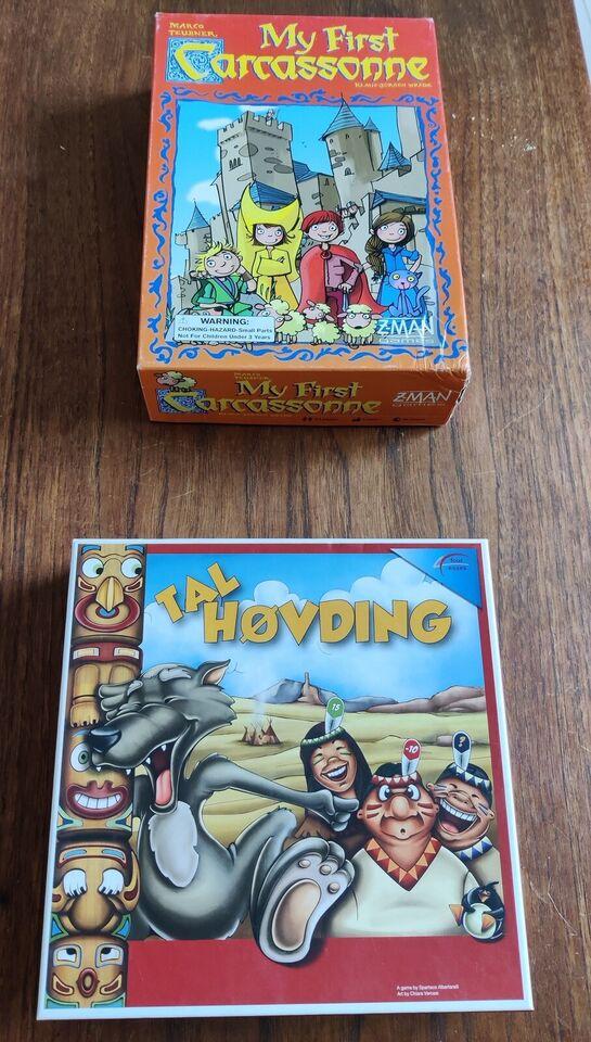 Diverse børnespil og puzzlespil, Div. Børnespil og