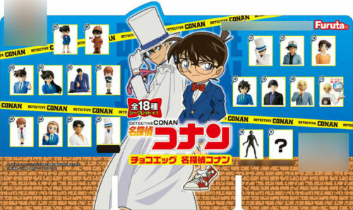 Furuta Confectionery Choco-egg Detective Conan 10Pack BOX CANDY TOY