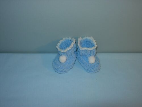 Super Soft BOOTIES /& SLIPPERS in Doll or BABY Sizes Handmade the Crafty Grandmas
