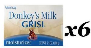 6 Donkey S Milk Soap Jabon Leche De Burra Grisi Natural Moisturizer