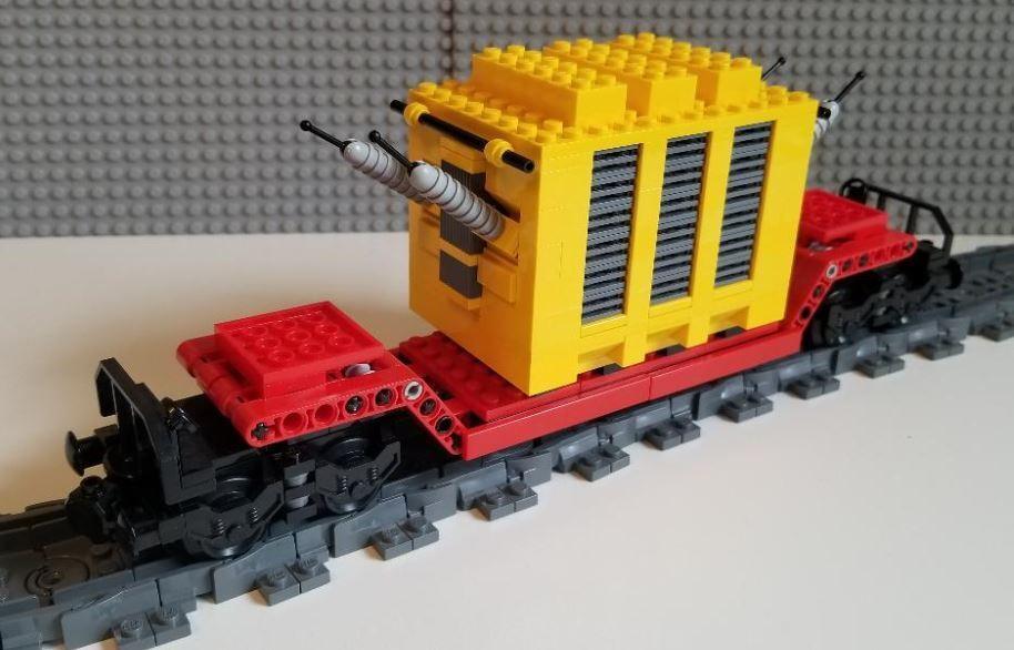 Lego Generator Car (Red) --- PLEASE READ READ READ DESCRIPTION --- f2c3d4
