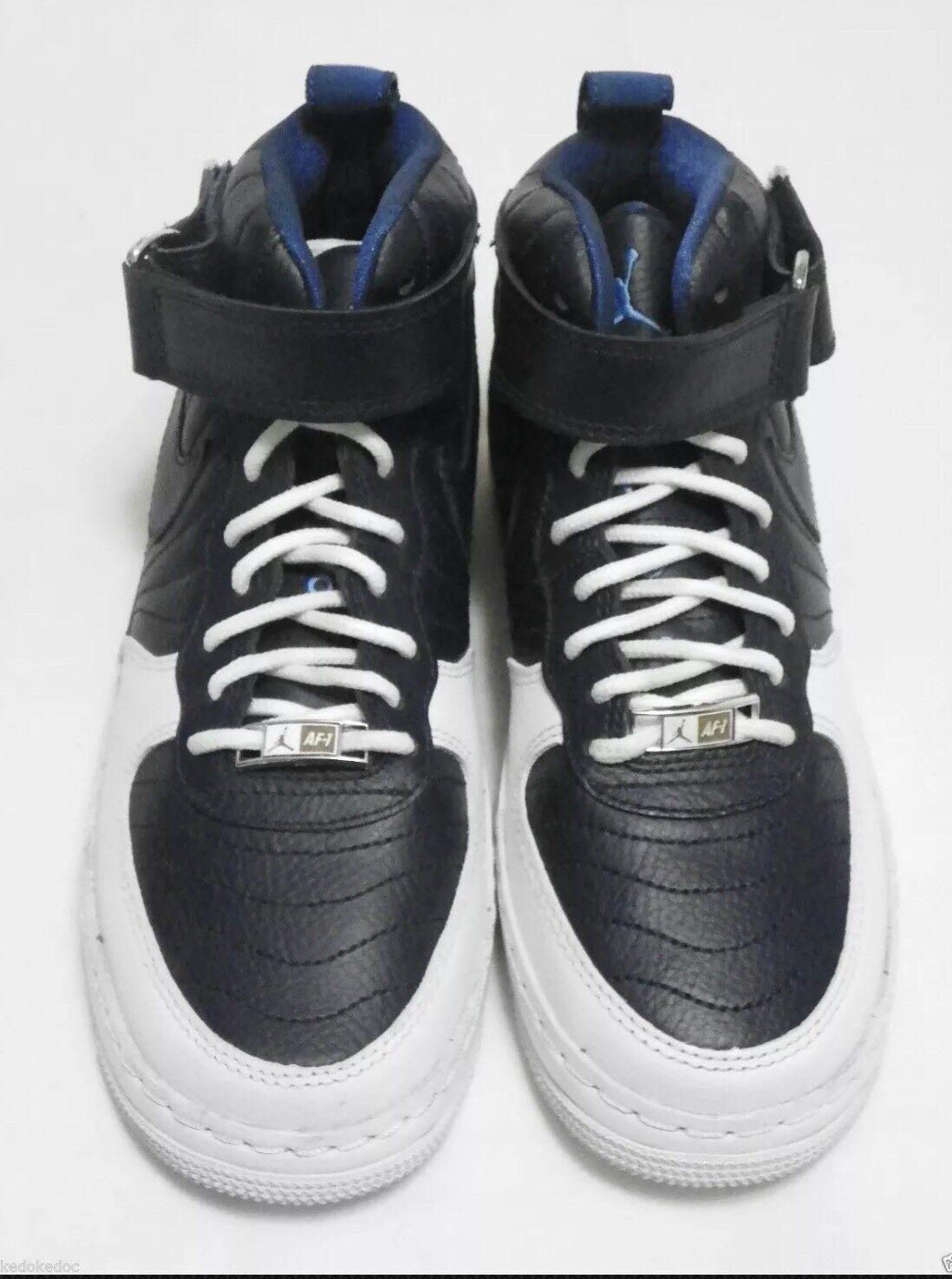Air Jordan AJF 12 Mid Basketball Shoes US 5.5Y  cm Navy [317743-401]