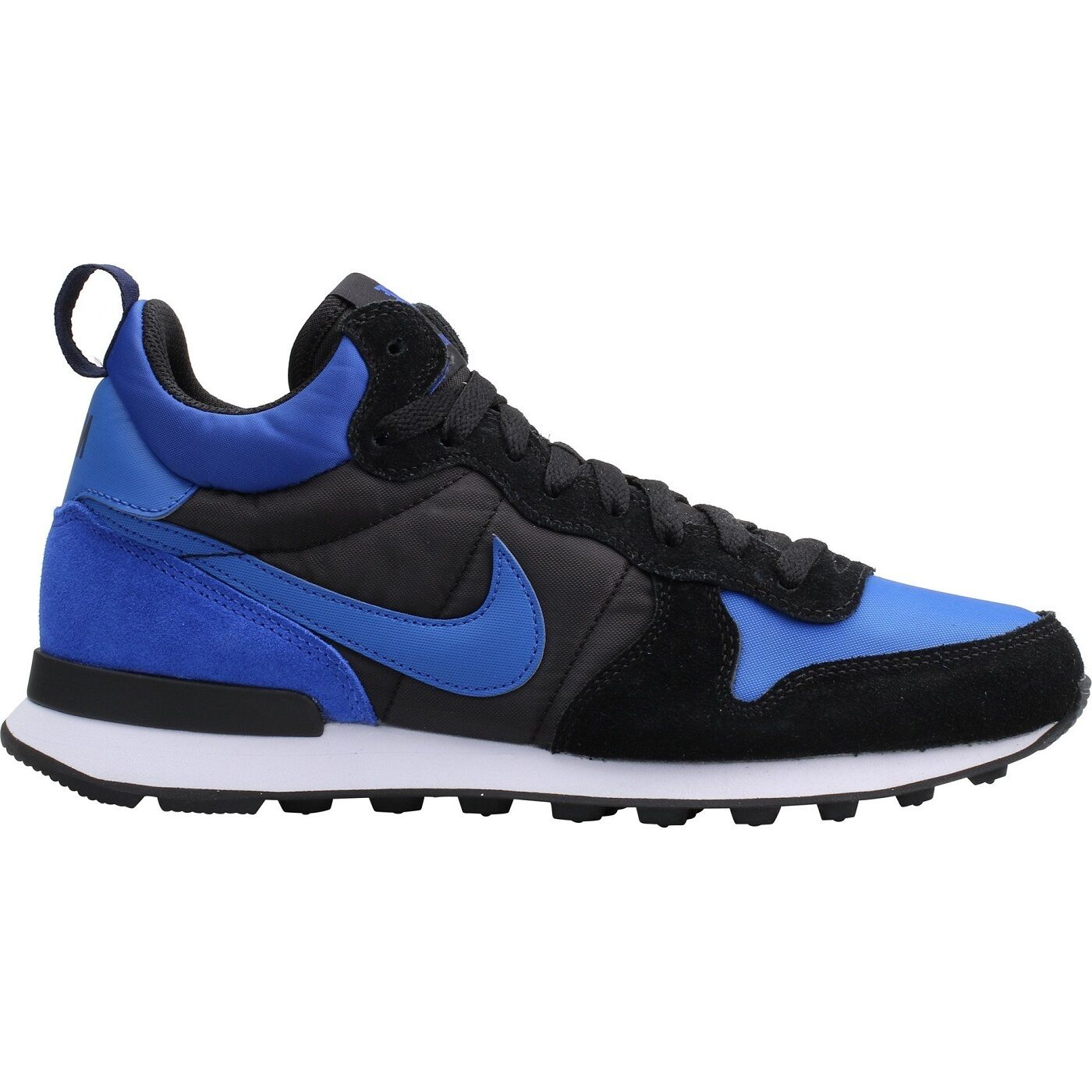 d6641599ab6e Nike Internationalist Mid Mens 682844-404 Royal Black Black Black Running  Shoes Size 8.5 02fde4