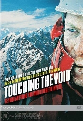 Touching The Void - DVD - TRUE STORY Snow Mountain Climbing Movie, THRILLER
