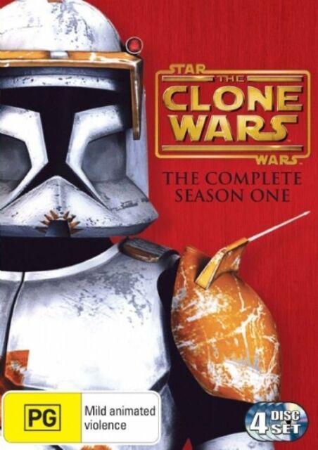 Star Wars - The Clone Wars - Complete Season One. (DVD, 4 Discs)