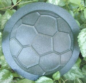 Small-soccer-stepping-stone-mold-plaque-plastic-sport-mold