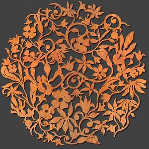Image Is Loading Flower Garden Design 36 034 Diam Fl Wall