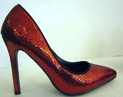 Mujer Piel De Serpiente Sintético Zapatos de salón (Ajustadas f9590)
