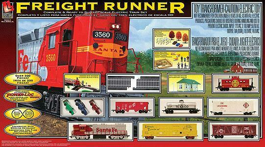 Life-Like 433-9100 h0 DIESEL Freight-Freight correreNER gp38-2 W Light, 5 autos, ca