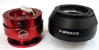 NRG Steering Wheel Short Hub Adapter Quick Release RD Subaru BRZ Scion FRS