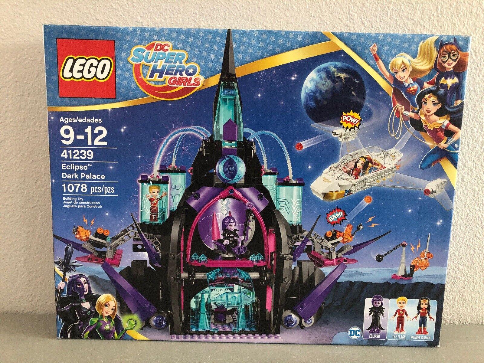 LEGO DC Super Hero Girls Eclipso Dark Palace 41239 - Nuovo in Sealed Box