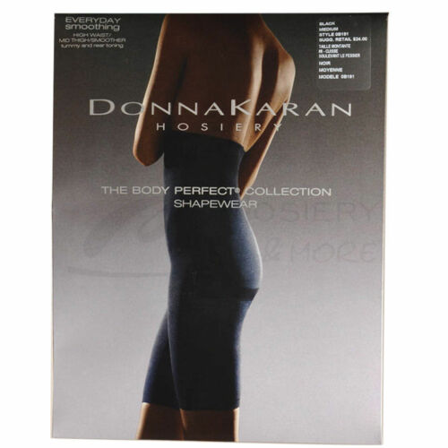 Details about  /Donna Karan Hosiery High Waist Mid-Thigh Smoother tummy and Rear toning